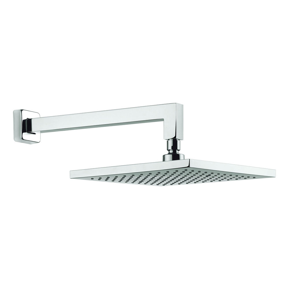 Adora - Planet 250mm Square Fixed Head & Wall Mounted Arm - MBPSWF25 profile large image view 1
