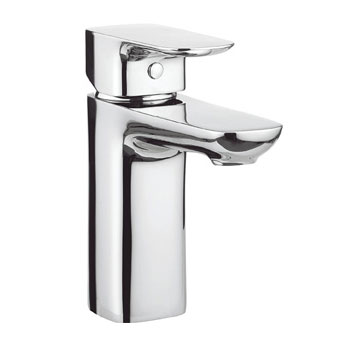 Adora - Serene Monobloc Basin Mixer with Click Clack Waste - MBSN110P+ profile large image view 1