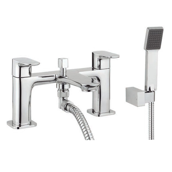 Adora - Serene Dual Lever Bath Shower Mixer with Kit - MBSN422D profile large image view 1