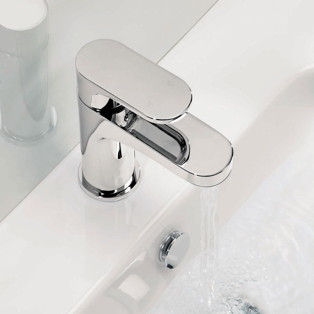 Adora - Style Monobloc Basin Mixer - MBST110N Profile Large Image