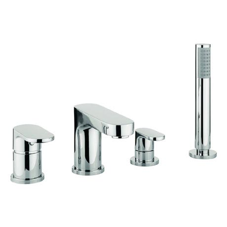Adora - Style 4 Hole Bath Shower Mixer with Kit - MBST440D