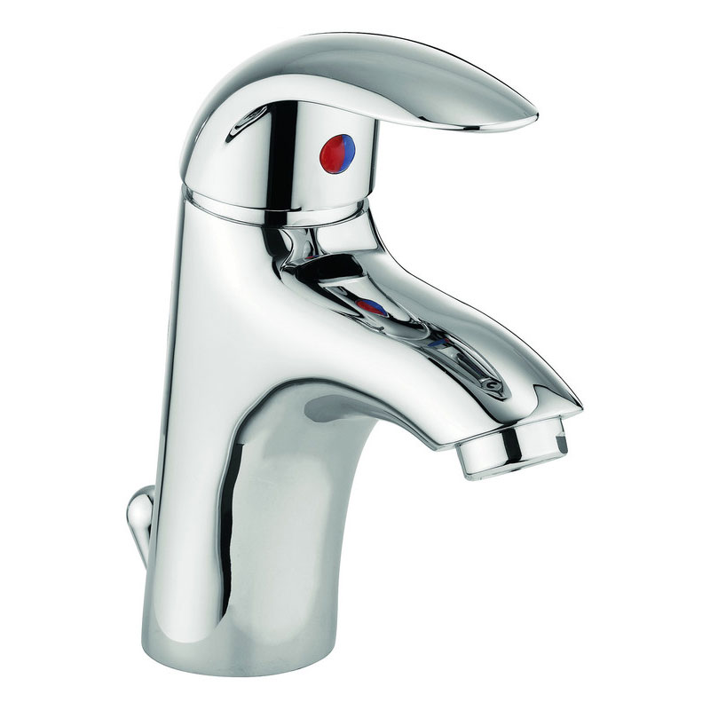 Adora - Sky Monobloc Basin Mixer with Pop-up Waste - MBSY110P Large Image