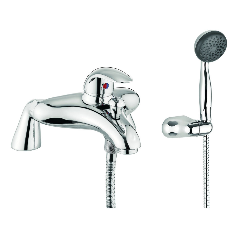 Adora - Sky Single Lever Bath Shower Mixer with Kit - MBSY421D Large Image