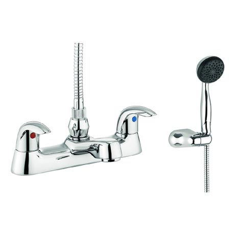 Adora - Sky Dual Lever Bath Shower Mixer with Kit - MBSY422D