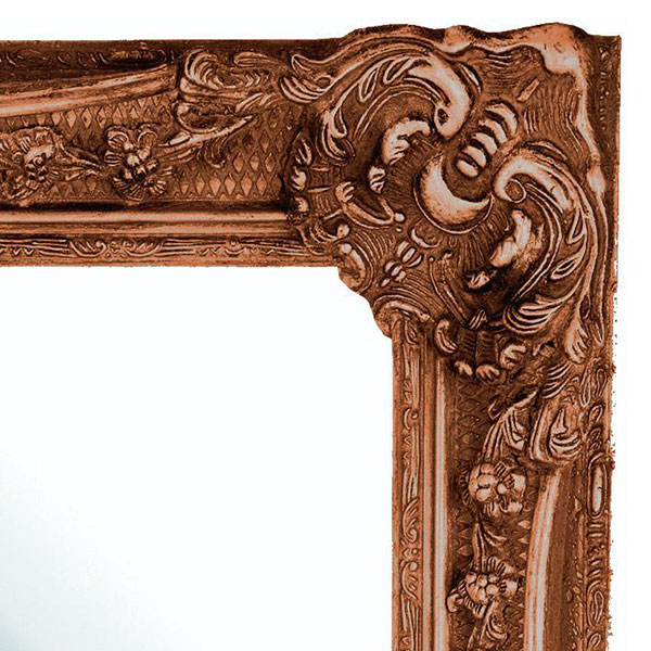 Heritage Bayswater Mirror (1090 x 790mm) - Burnished Gold profile large image view 2