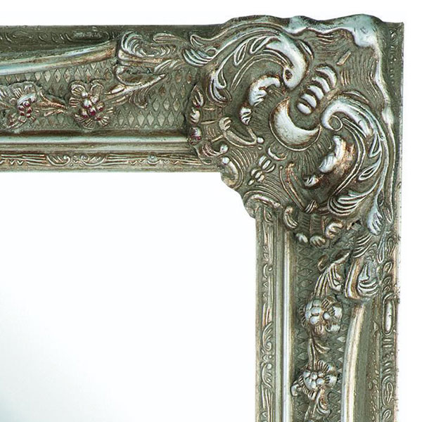 Heritage Bayswater Mirror (1090 x 790mm) - Vintage Silver profile large image view 2