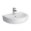 555mm 1TH Ceramic Basin - NCS202 profile small image view 1