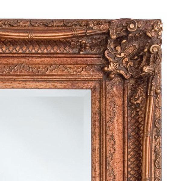 Heritage Chesham Mirror (1300 x 990mm) - Burnished Gold Profile Large Image