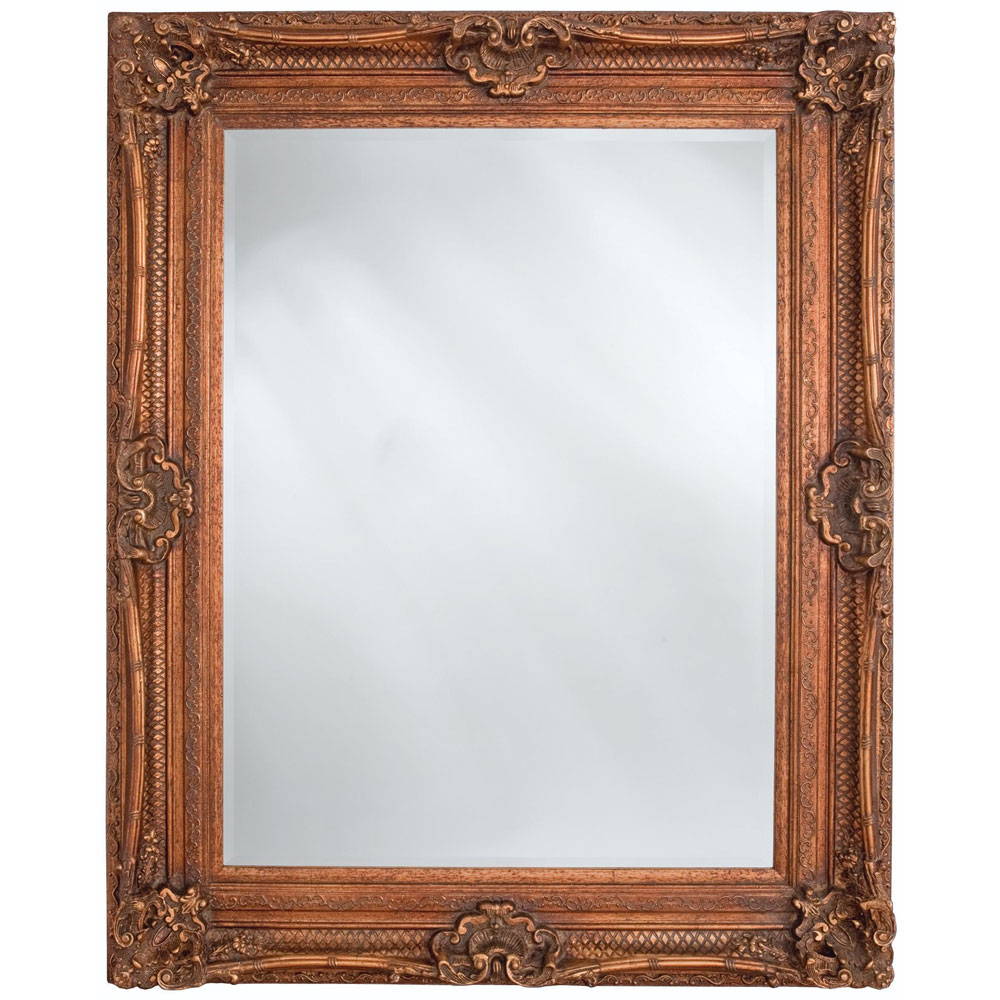 Heritage Chesham Mirror - Burnished Gold