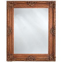 Heritage Chesham Mirror (1300 x 990mm) - Burnished Gold Medium Image