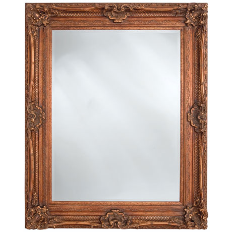 Heritage Chesham Mirror (1300 x 990mm) - Burnished Gold