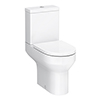 Metro Comfort Height Toilet + Soft Close Seat profile small image view 1
