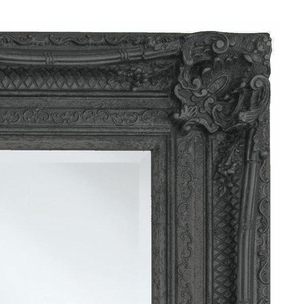 Heritage Chesham Mirror (1300 x 990mm) - Stone Black Profile Large Image
