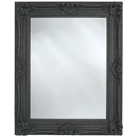 Heritage Chesham Mirror (1300 x 990mm) - Stone Black