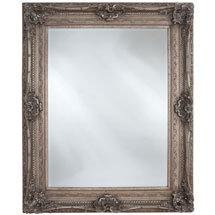 Heritage Chesham Mirror (1300 x 990mm) - Vintage Silver Medium Image