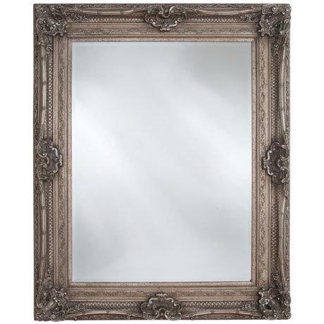 Heritage Chesham Mirror (1300 x 990mm) - Vintage Silver
