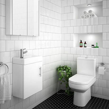 Minimalist Cloakroom Suite Now Online At Victorian