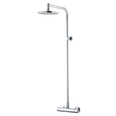 Aqualisa - Midas Plus Mono Exposed Thermostatic Bar Valve with Fixed Head - MD000PLMN