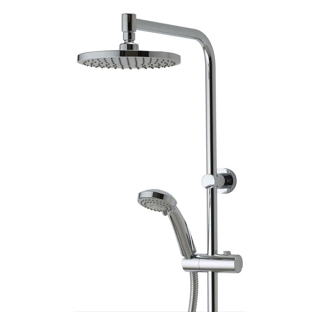 Aqualisa - Midas Plus Exposed Thermostatic Bar Valve with Fixed and Adjustable Heads - MD000PLUS Profile Large Image