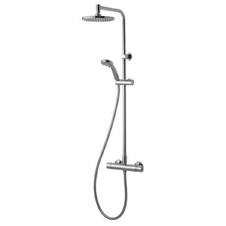 Aqualisa - Midas Plus Exposed Thermostatic Bar Valve with Fixed and Adjustable Heads - MD000PLUS