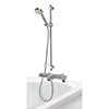 Aqualisa Midas 110 Bath Shower Mixer with Adjustable Head - MD110BSM profile small image view 1