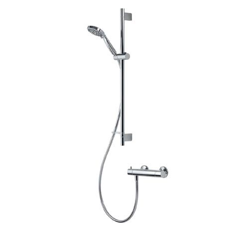 Aqualisa - Midas 300 Thermostatic Bar Valve with Slide Rail Kit