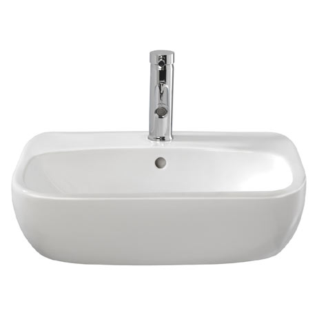 Twyford Moda 550mm 1TH Semi Recessed Basin