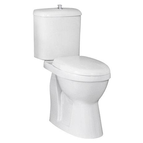 Milton DOC M Single Flush High Rise Close Coupled Toilet