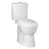 Milton DOC M Single Flush High Rise Close Coupled Toilet profile small image view 1