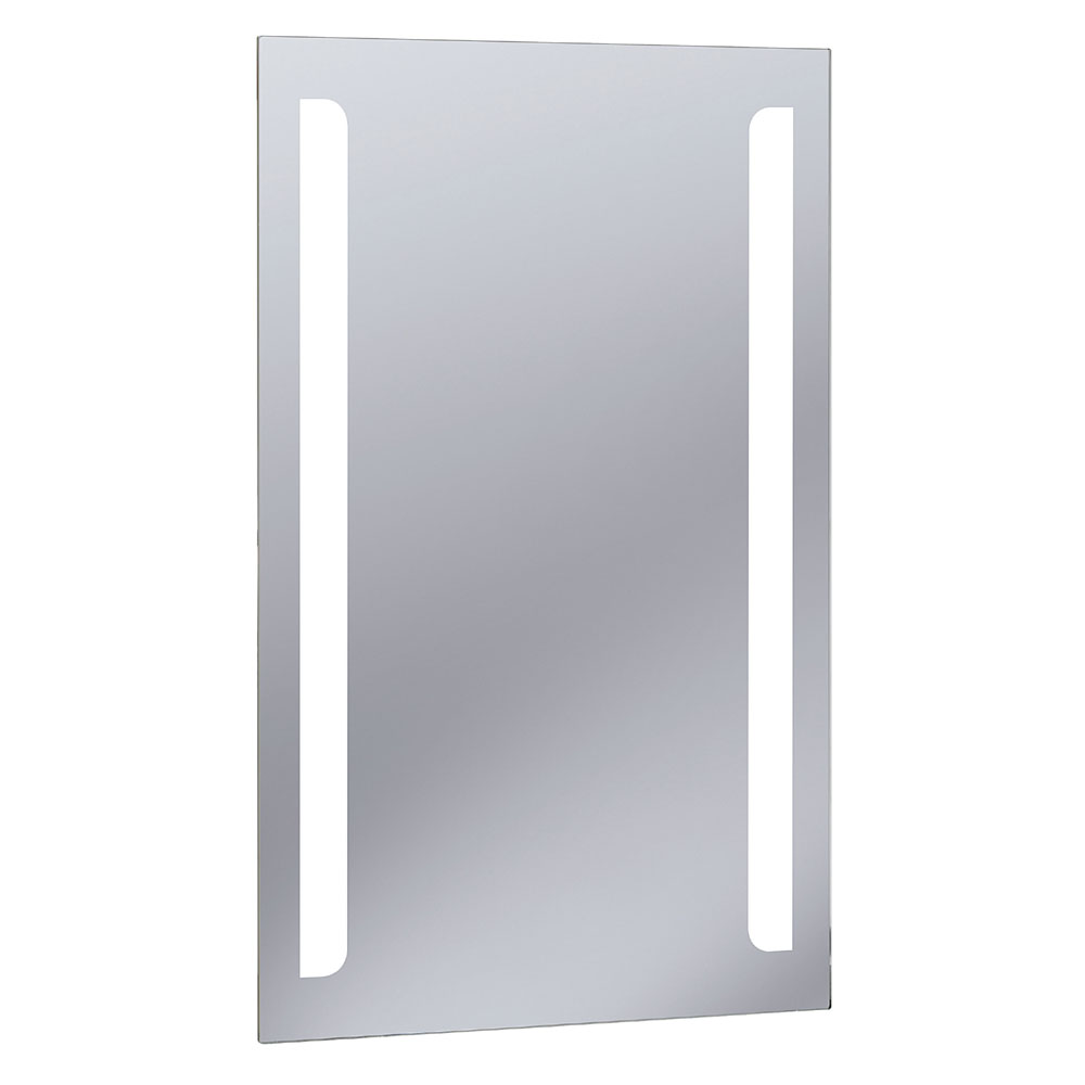 Bauhaus - Elite 50 LED Back Lit Mirror with Demister Pad - ME8050B profile large image view 1