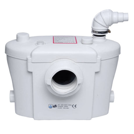 Sanitary Macerator Waste Pump System for Toilet, Basin + Bath ME90101