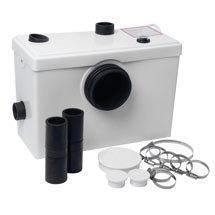 Sanitary Macerator Waste Pump System for Toilet, Basin + Bath ME90103 Medium Image