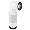 90 Degree Flexible Pan Connector profile small image view 1