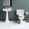 Burlington Medici 4-Piece Traditional Bathroom Suite profile small image view 1
