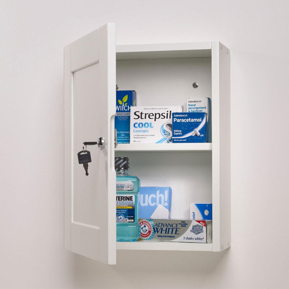 Roper Rhodes Medicab Lockable Medicine Cabinet - MED340 profile large image view 2