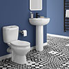 Melbourne Toilet and Basin Suite profile small image view 1