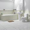 Melbourne 5 Piece Bathroom Suite - 3 Bath Size Options profile small image view 1