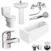 Melbourne 1700 x 700 Complete Bathroom Package profile small image view 1