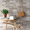 Melo Grey Rustic Brick Effect Wall Tiles - 250 x 60mm Small Image