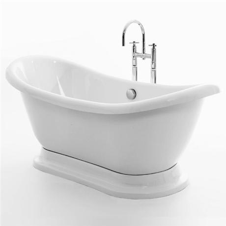 Royce Morgan Melrose on Plinth 1700 Luxury Freestanding Bath with Waste
