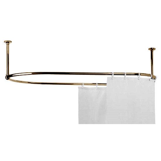 Mere Ceiling Bracket - Single - Gold Large Image