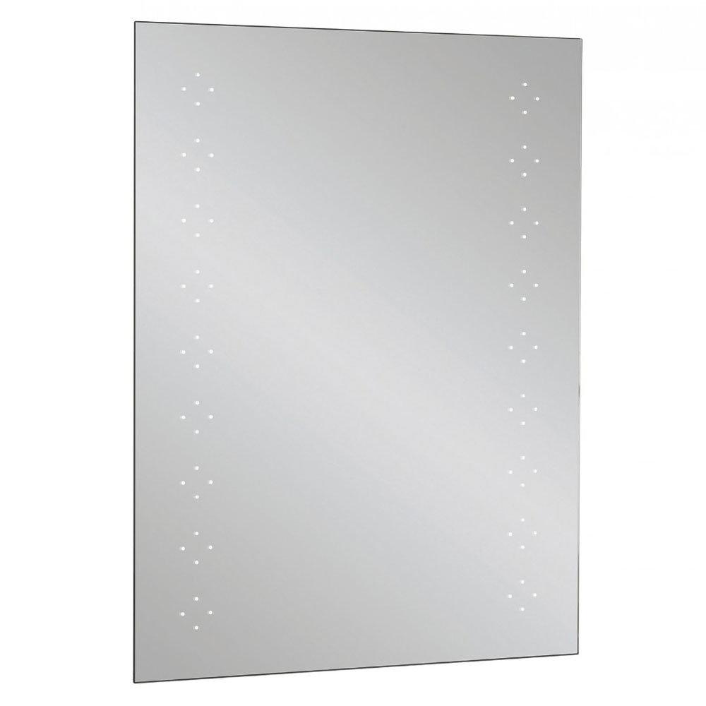 Bauhaus - Rio 1.0 LED Illuminated Mirror w/ Shaving Socket, Digital Clock & De-Mist Pad - MES8060A Large Image