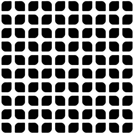 Tetra Mesh Black Wall and Floor Tiles - 200 x 200mm