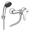 Gio Single Lever Manual Shower Valve with Shower Kit profile small image view 1
