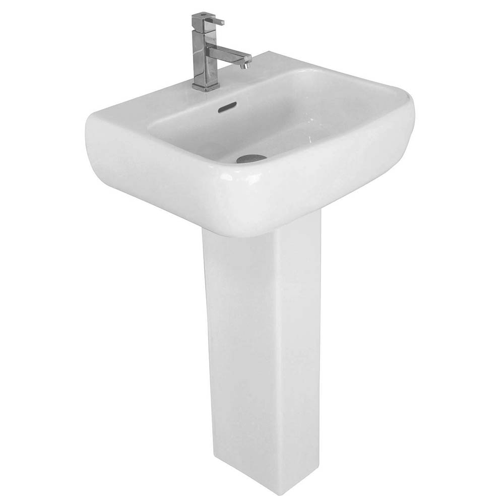 RAK Metropolitan 52cm Basin with Full Pedestal