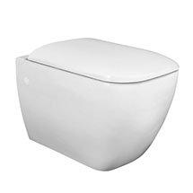 RAK Metropolitan Wall Hung Pan + Soft Close Seat Medium Image