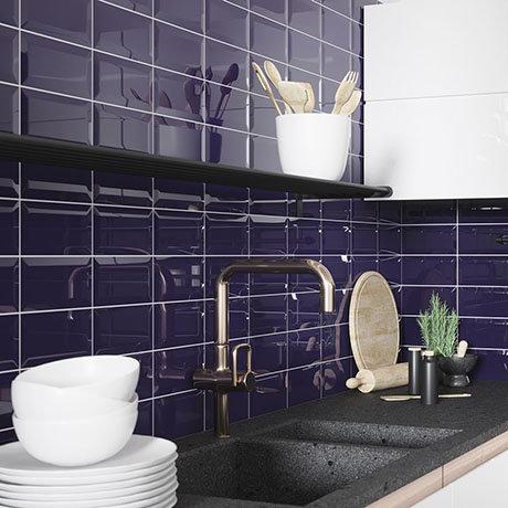 Victoria Metro Wall Tiles - Cobalt - 20 x 10cm