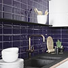 Victoria Metro Wall Tiles - Cobalt - 20 x 10cm Small Image