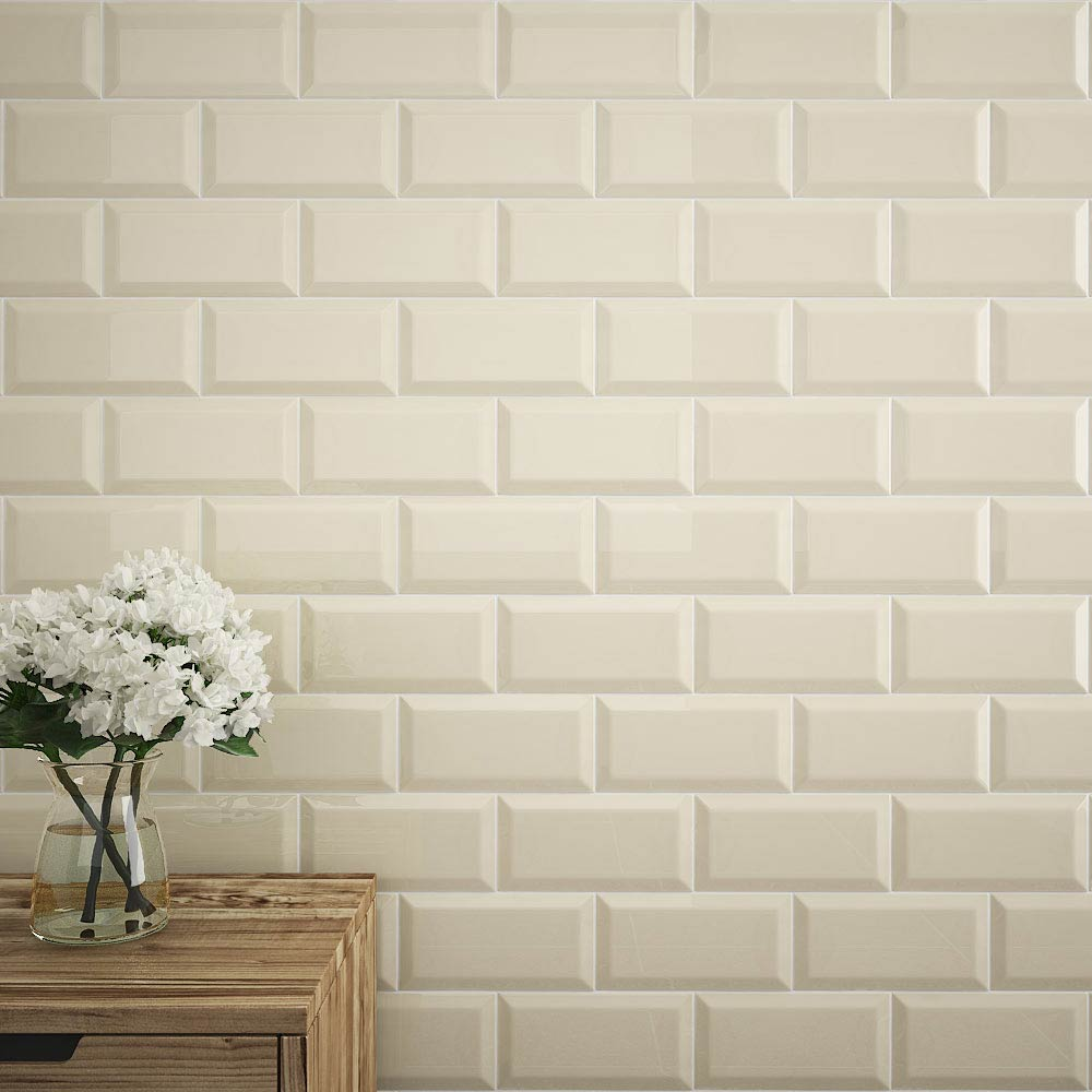 Cream Metro Tiles Buy Metro Gloss Cream Tiles Victorian
