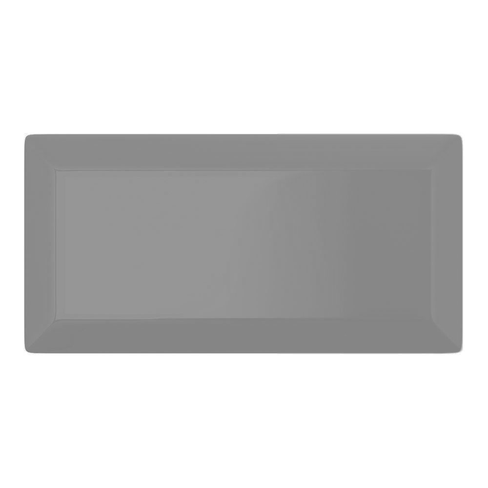 Victoria Metro Wall Tiles - Gloss Dark Grey - 20 x 10cm  Profile Large Image